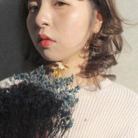 jille-外国人風カラーのミディアムスタイル