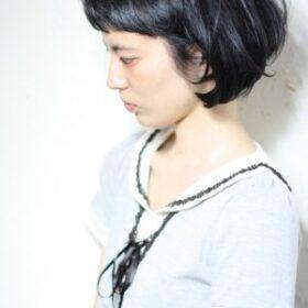 anteret-黒髪ミニマムボブ