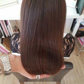 RoomieЯoom-キレイなブラウンストレート後ろ髪2