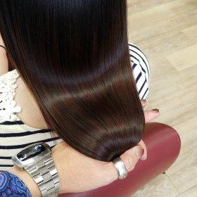RoomieЯoom-ブラウンストレート後ろ髪