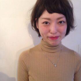sugata-ショートBOB×グレージュハイライト