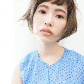 gokan-大人の透け感ショートボブ
