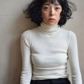 mokage-黒髪カールスタイル