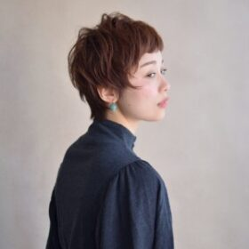 mokage-マニッシュショート
