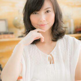 teo-大人かわいいエアリーパーマ×小顔ひし形シルエット