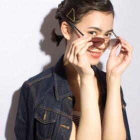 UNREVE-サングラスの似合う黒髪スタイル