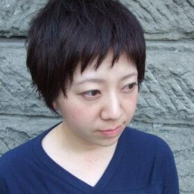 begin-短い前髪の大人ショートヘア