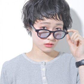 bico-ふわくしゅの黒髪ショート