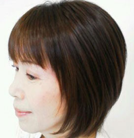 lagray-大人女性に似合う黒髪ショートヘア