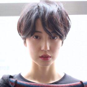 meika-綺麗な球形のショートヘアその2