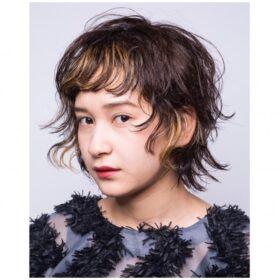 meika-くしゅっとさせたショートヘア
