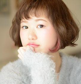 LeyYokohama-可愛らしいラフなボブスタイル