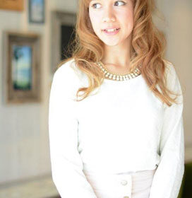 LeyYokohama-明るいブラウンの巻髪