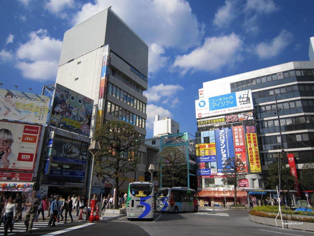 kichi-color-吉祥寺の街並み1