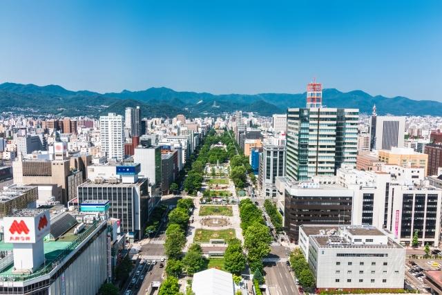 odori-ninki-大通の風景