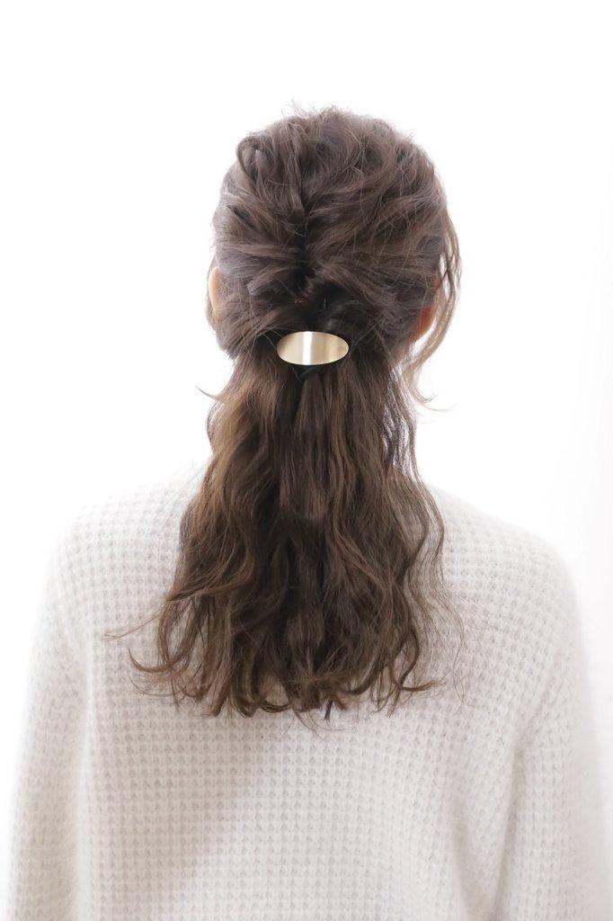 monet-set-波ウェーブのヘアセット