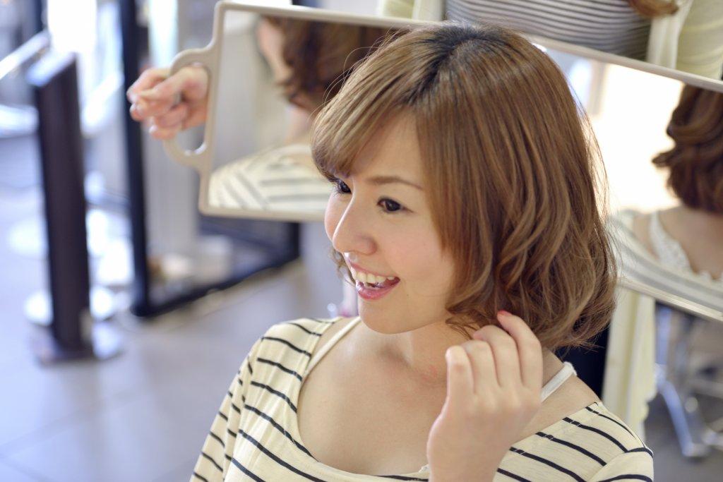 drycut-笑顔の女性