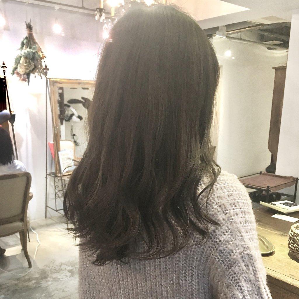 gray-アトリエシックスの白髪染め