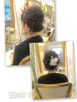 hairset-アトリエシックスのヘアセットスタイル