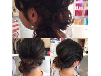 hairset-エムプラスのヘアセットスタイル