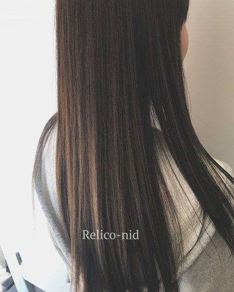 straight-レリコ ニドの縮毛矯正