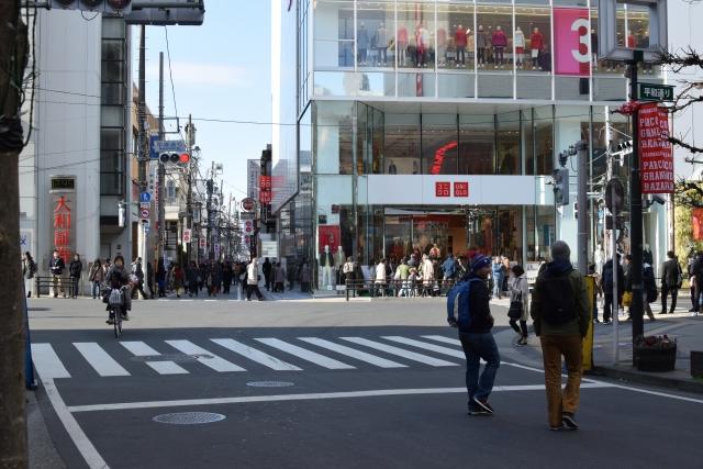 cutmodel-吉祥寺駅北口の風景