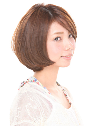 gray-ミスエッセンスオモテサンドウのヘアスタイル