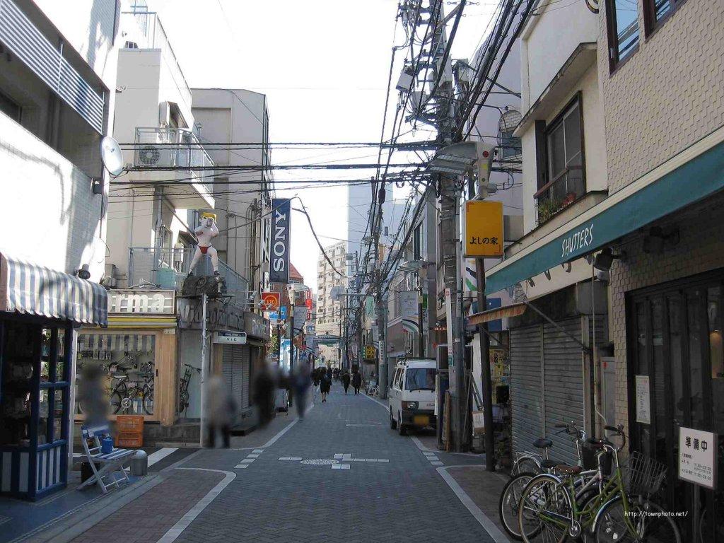 中道通りの写真
