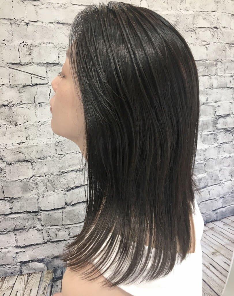 straight-ブルームスイートのヘアスタイル