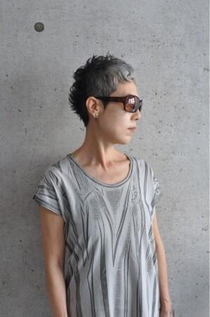 grey-ナナインチのヘアスタイル