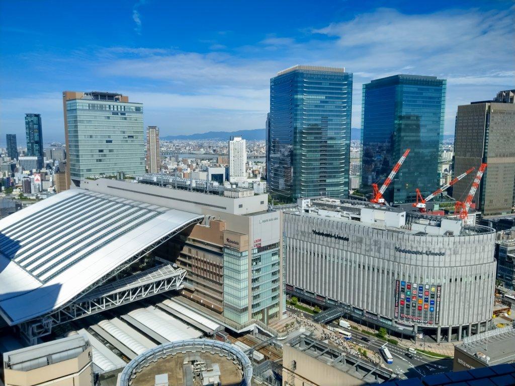 阪急グランドビルからの風景写真